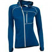 Woolshell Jacket W/Hood Woman S, Blue Sapphire
