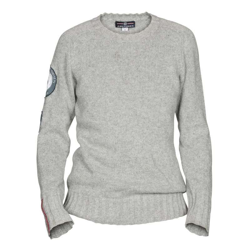Woman Peak Sweater S, Grey Melange Längdskidan