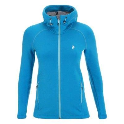 Women's Waitara Zipped Hood XS, Atomic Blue