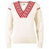 Alpina Feminine Sweater L, Cream/Raspberry