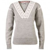 Alpina Feminine Sweater L, Light Charcoal/Cream