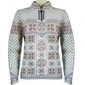 Peace Feminine Sweater XL, Warm Taupe/Offwhite