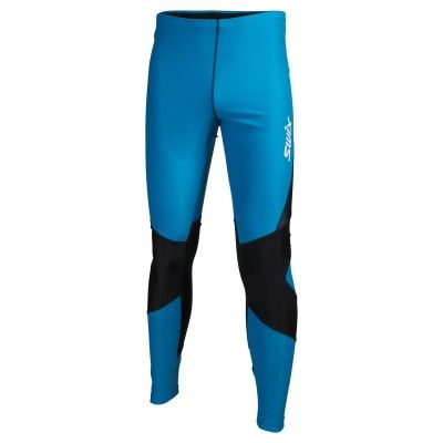 O2 tights long Mens M, Aqua