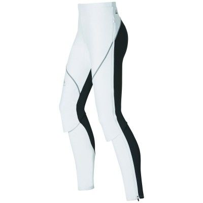 Pants Logic Muscle Light Women's XL, White - Odlo Graphite Grey