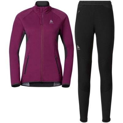 Set STRYN Women's L, Magenta Purple