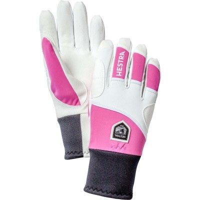 Active Grip - 5 finger 9, Cerise/Ivory