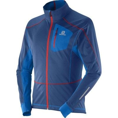 Equipe Softshell Jacket Men's S, MIDNIGHT BLUE / UNION BLUE /
