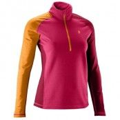 Women's Thermo 220 Zipped Base-Layer Top L, Passion