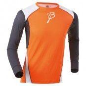 Shirt Dry Ls M, Shocking Orange/Peri/Br White