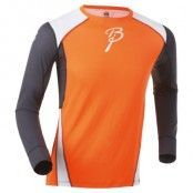 Shirt Dry Ls S, Shocking Orange/Peri/Br White