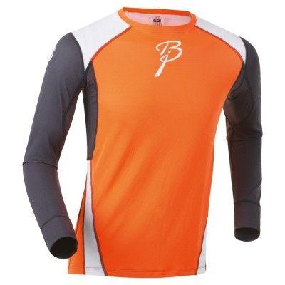 Shirt Dry Ls XL, Shocking Orange/Peri/Br White