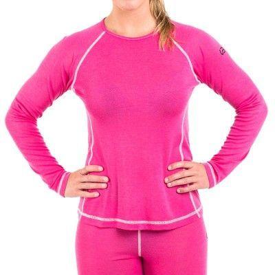 Women's Merino Roundneck L, Pink