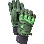 Leather Fall Line 8, Forest/Light Green