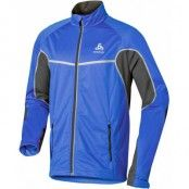 Jacket Frequency X Men's M, Mazarine Blue - Odlo Graphite