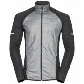 Odlo Jacket hybrid seamless IRBIS Herr Black/Concrete Grey - Utförsäljning
