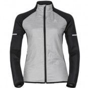 Odlo Jacket Hybrid Seamless Irbis Woman Black/Concretegrey