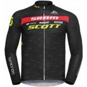 Odlo Stand-Up Collar L/S Full Zip Scott Racing Men