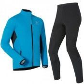 Stryn Men's Set XXL, Dresden Blue - Odlo Graphite G