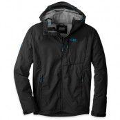 Trailbreaker Jacket, Men's XL, Black